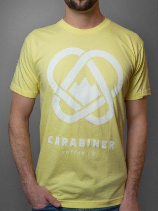 Carabiner-Tee-yellow