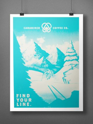Carabiner-Coffee-Poster